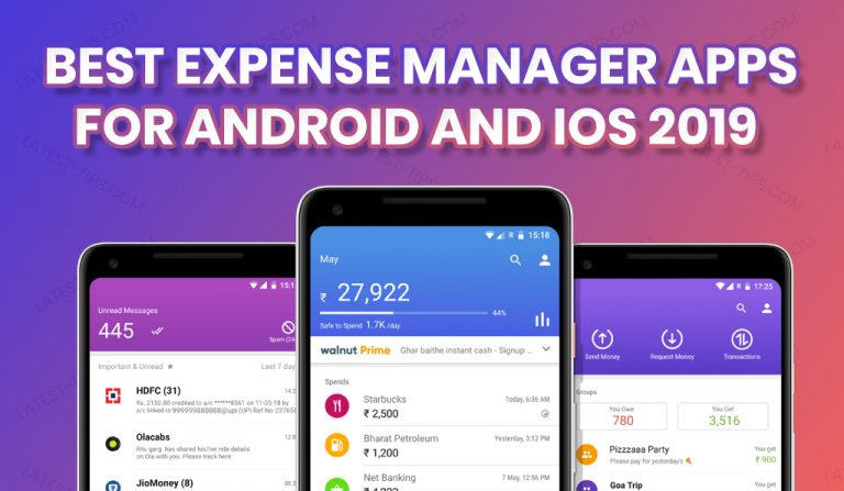 best expense manager apps for android and ios