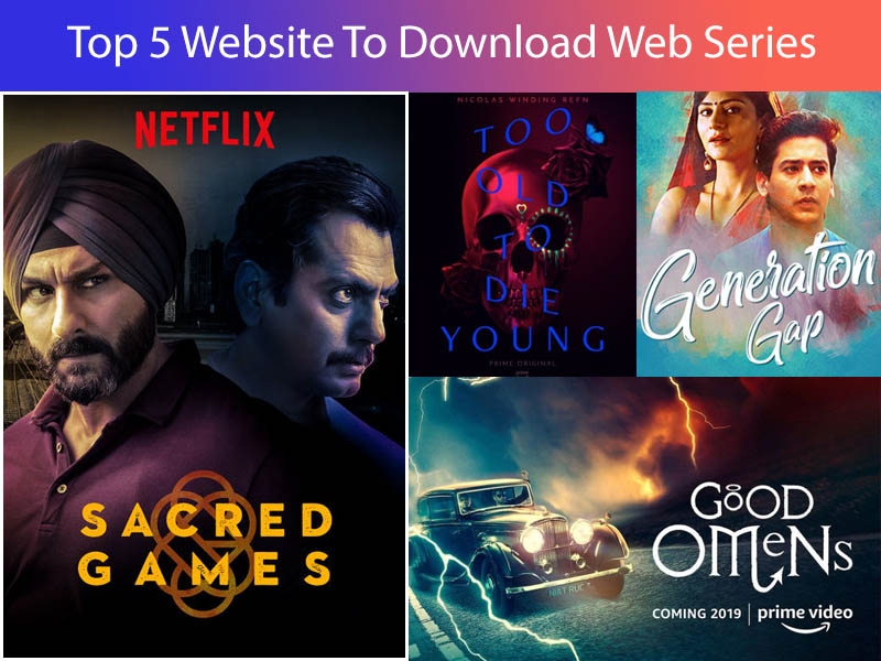 top 5 website to download web series - Latest Tips