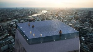 The World's First Infinity Pool With a 360-Degree View