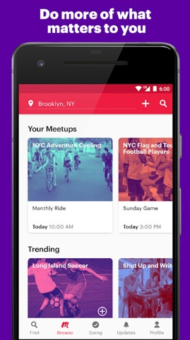 best apps to make new friends around you meetup