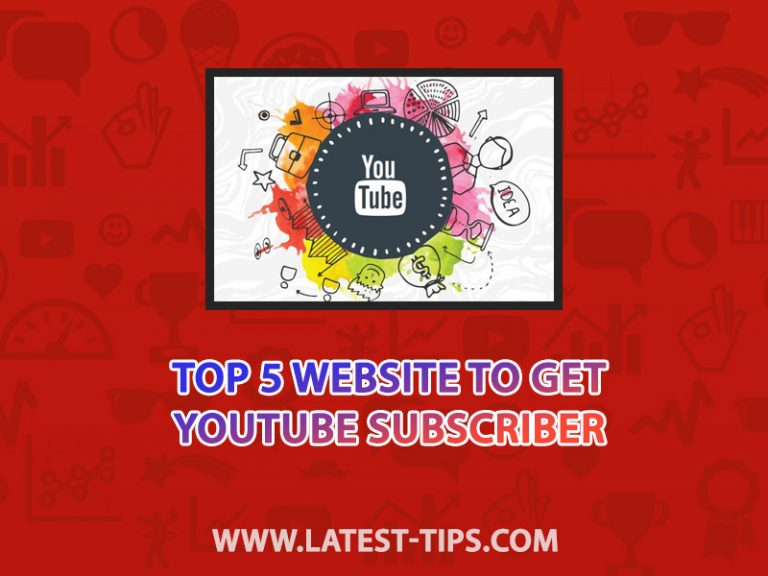 top 5 website to get free youtube subscribers #2021