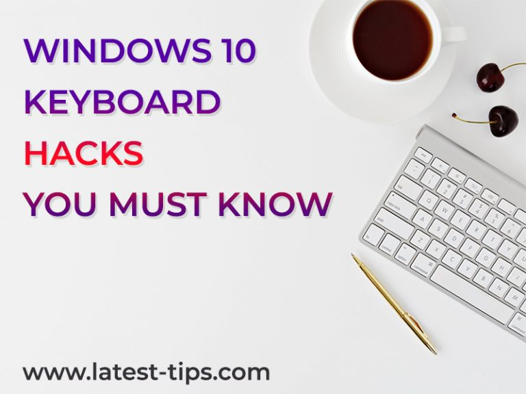 windows 10 keyboard hacks