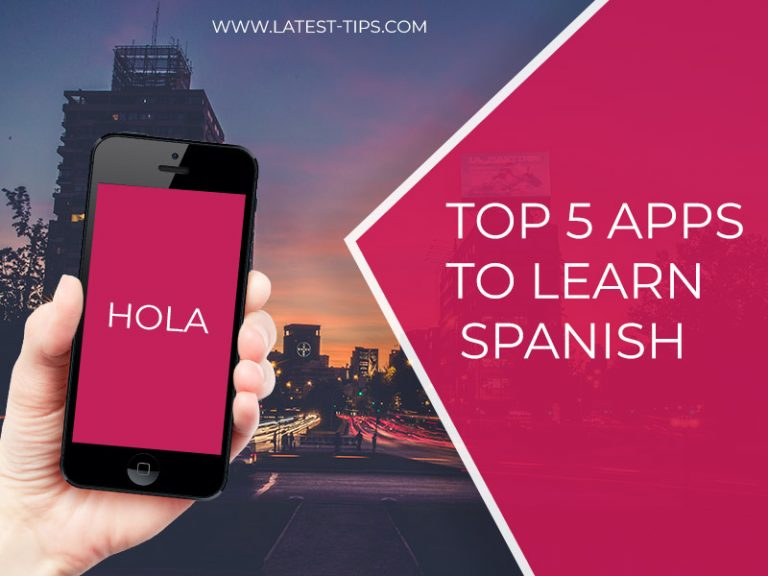 top 5 apps to learn Spanish