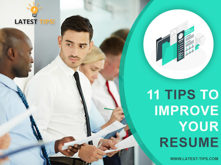 Tips to Improve Your Resume
