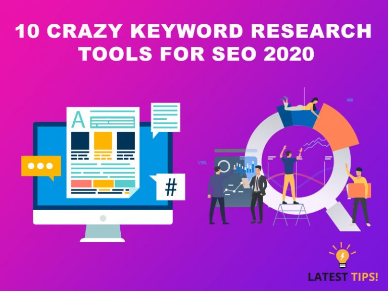 10 crazy Keyword Research Tools for SEO 2020