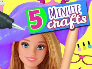 5 MINUTES CRAFT FOR DOLL