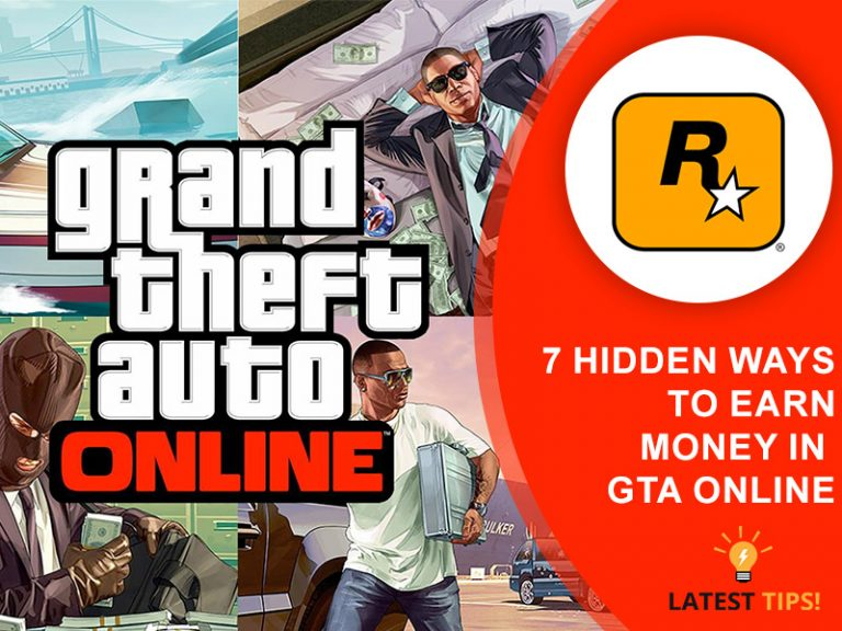 7 hidden ways to earn money in GTA-online