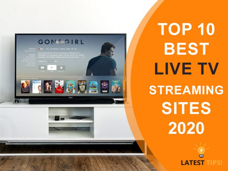 Top 10 Best Live Tv Streaming Sites 2020