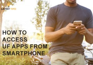 How to Access UF Apps from Smartphone