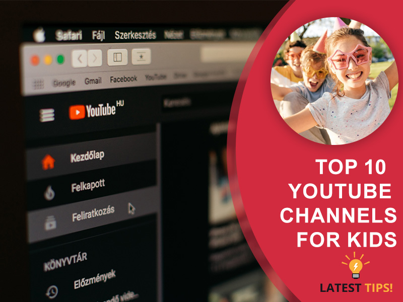 top 10 youtube channels for kids