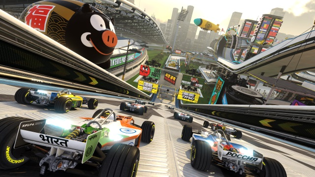 Best Split Screen PS4 Games TrackMania Turbo