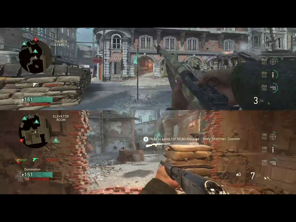 Best Split Screen PS4 Games call of duty