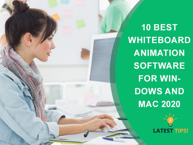Best Whiteboard Animation Software 2020