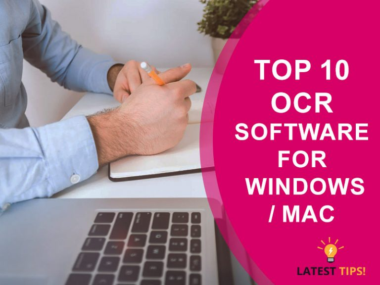 Top 10 OCR Software