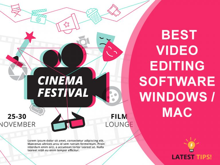 Latest Tips – Top 9 best video editing software (window/ mac/ Linux) #2021