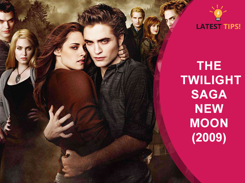 Twilight Movies in Order The Twilight Saga New Moon (2009)