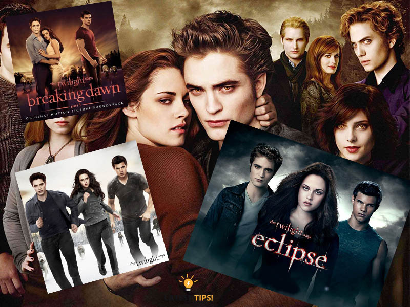 Twilight Movies in Order