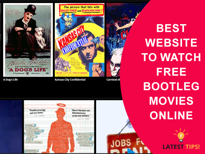 watch free bootleg movies online
