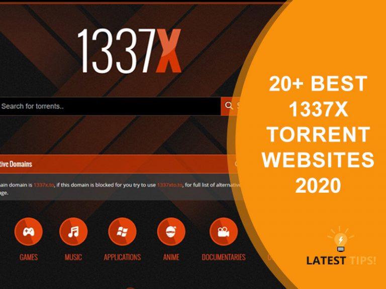 1337x Torrent Websites 2020