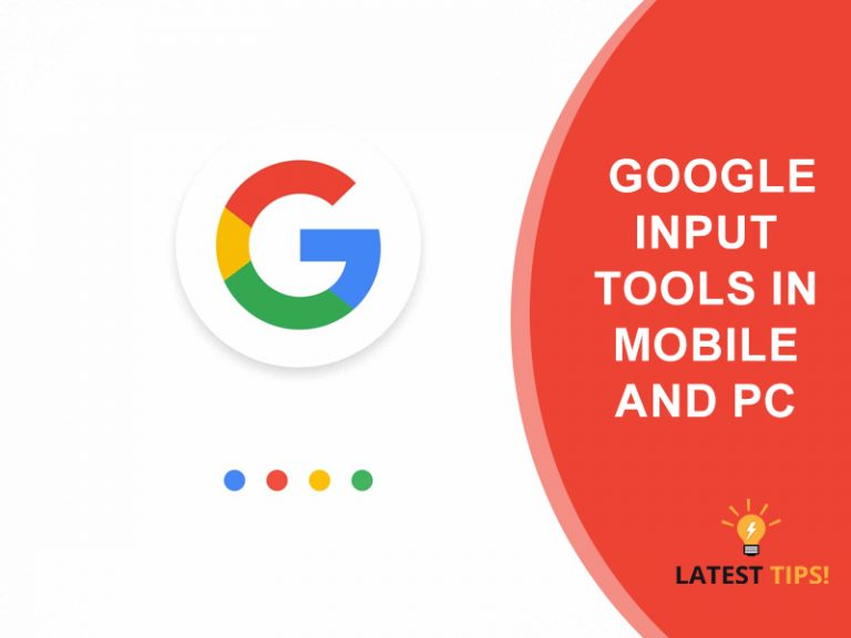 Google Input Tools Mobile And Pc 2020