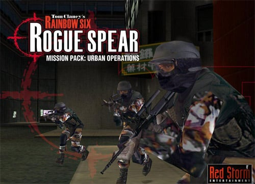 Highly Compressed PC game rainbow six rogue spear