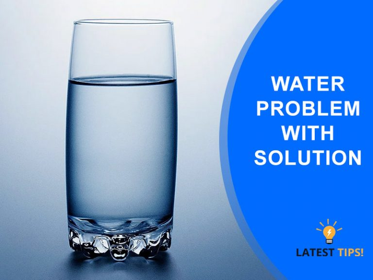 Water Problem With Solution 2020