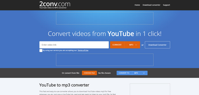 Youtube Video To Mp3 Converter 2conv