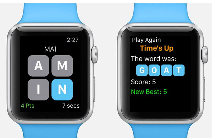 Apple Watch game Snappy Word