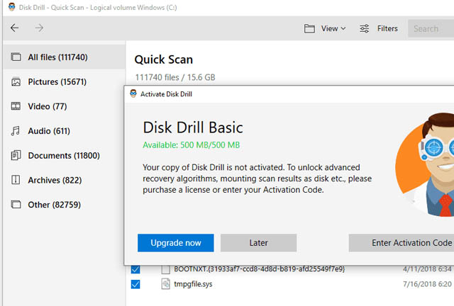 Free Data Recovery Software disk drill