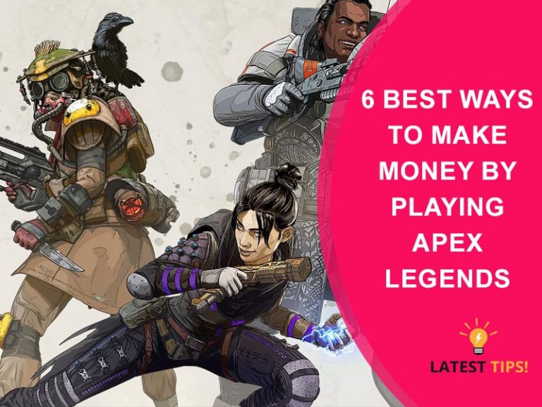 Make Money By Playing Apex Legends