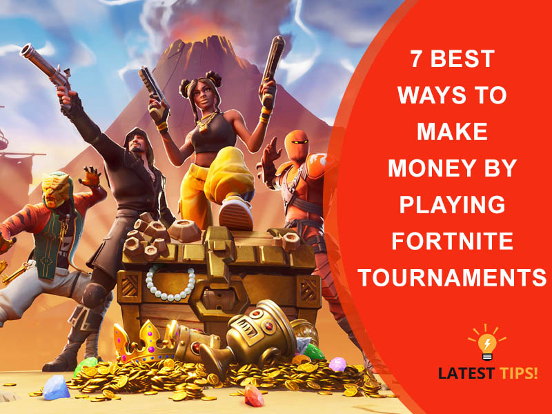 Money By Playing Fortnite Tournaments