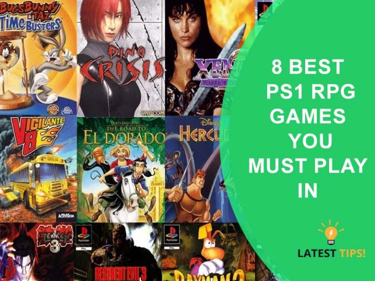 PS1 RPG Games
