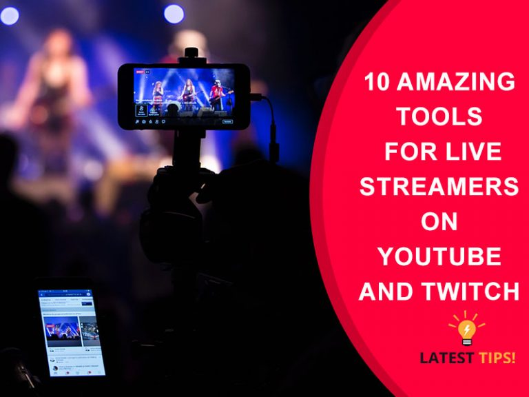 Tools for Live Streamers