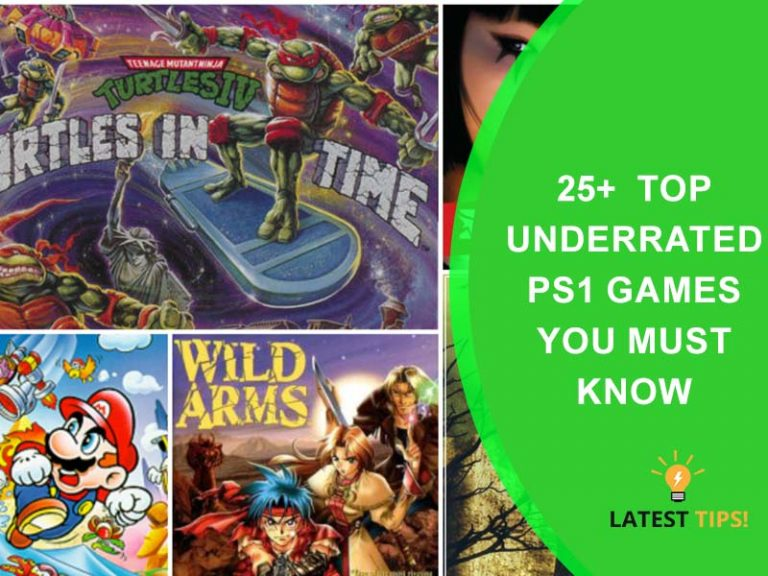 Underrated PS1 Games
