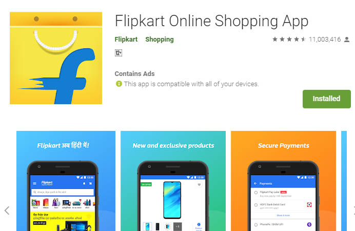 must have android apps flipkart