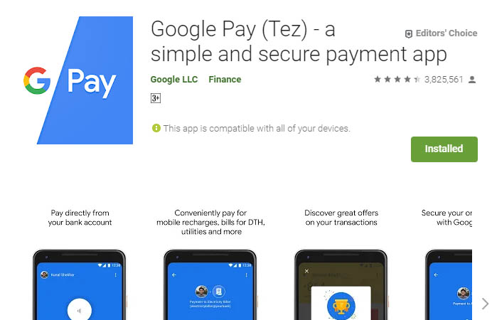 must have android apps google pay