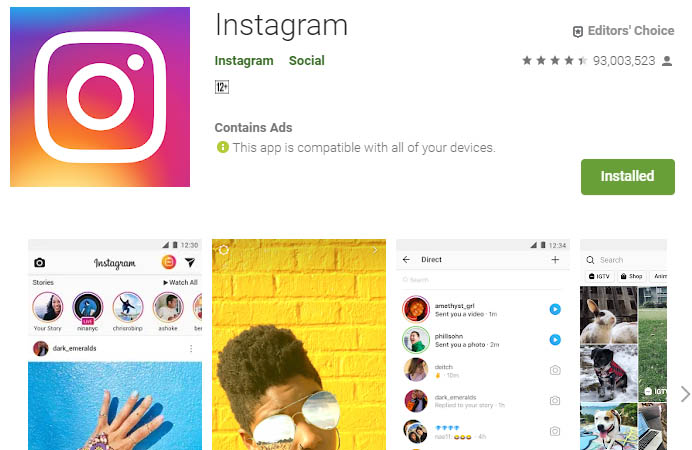 must have android apps instagram