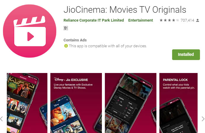 must have android apps jiocinema