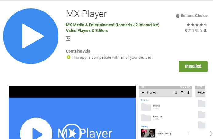 must have android apps mxplayer