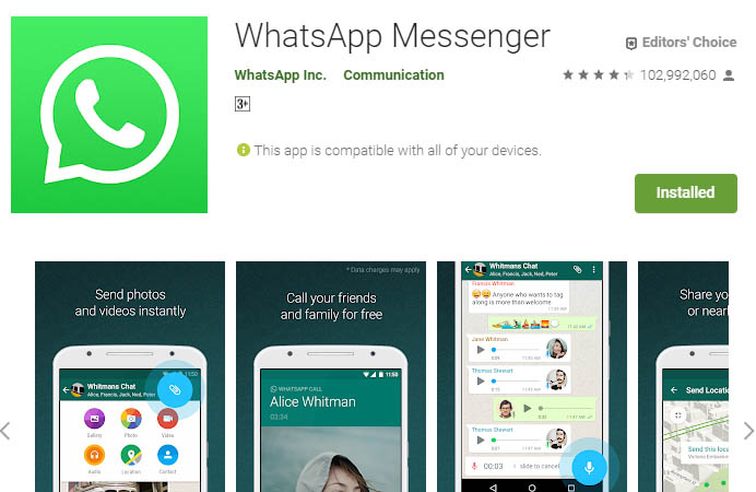 must have android apps whatsapp
