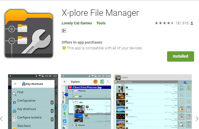 must have android apps xplore
