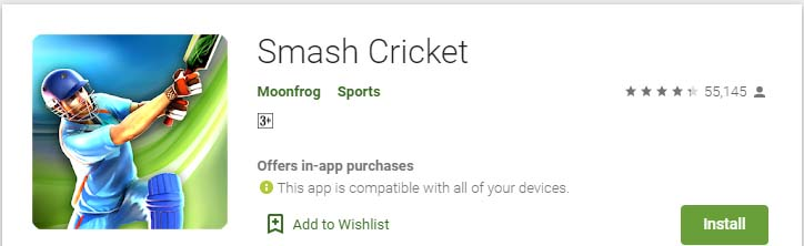 Cricket Games For Android Mobile smash cricket