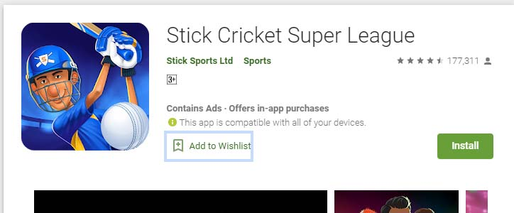Cricket Games For Android Mobile sticky cricket