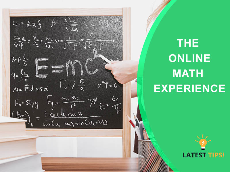The Online Math Experience