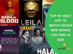 Best App To Watch Indian Web Series