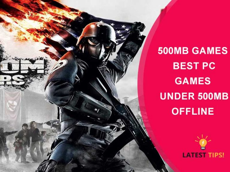 Best Pc Games Under 500MB Offline