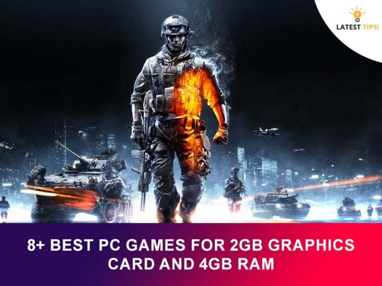 8+ best pc games for 2gb graphics card and 4gb ram #2021