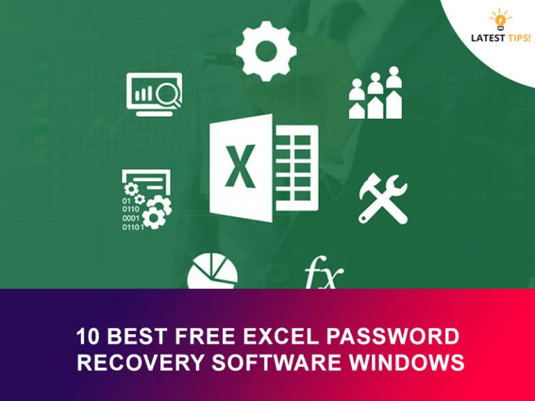 Best Free Excel Password Recovery Software Windows