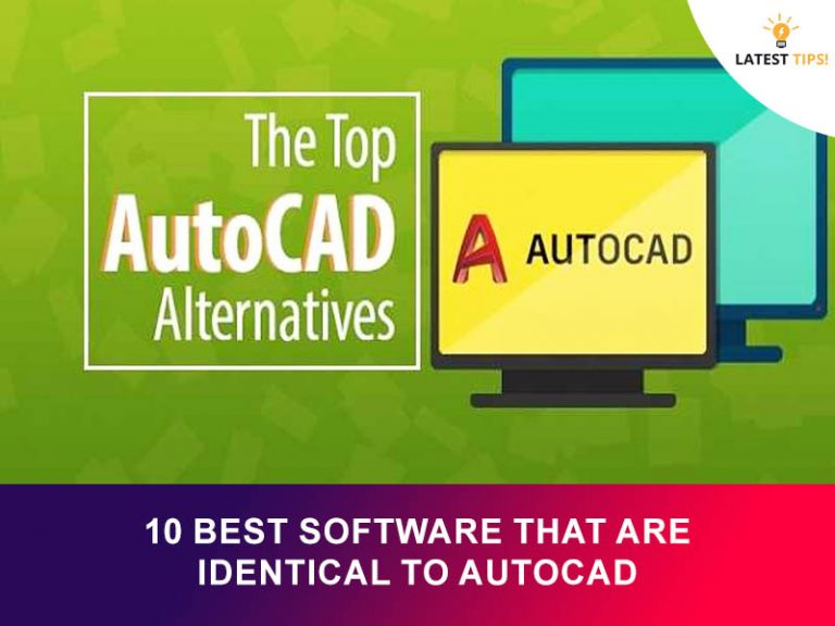 Best Software That Are Identical To AutoCAD