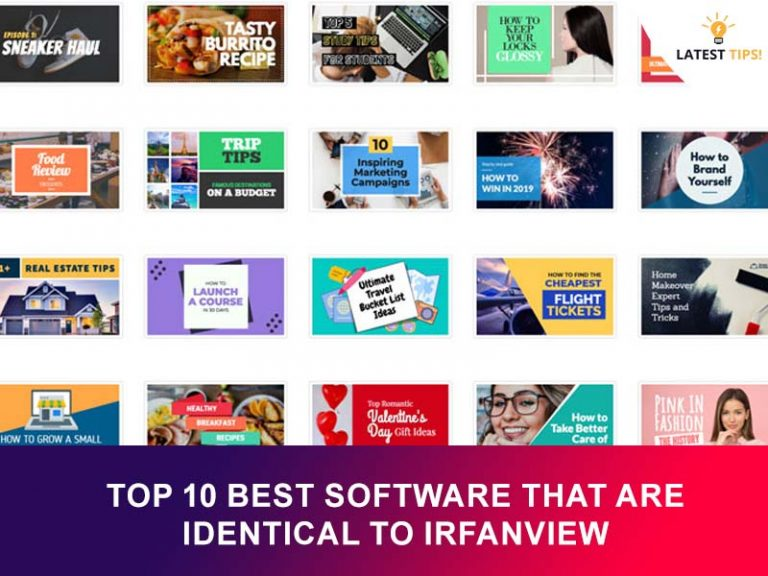 Top 10 best Software that are Identical to Irfanview in #2021